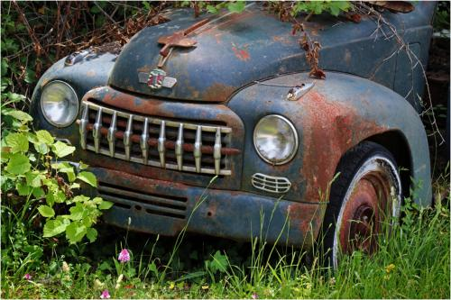 Abandoned Fiat by Peter Colligan