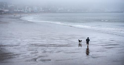 Foggy Day on the Sands by Steve Frost (10)