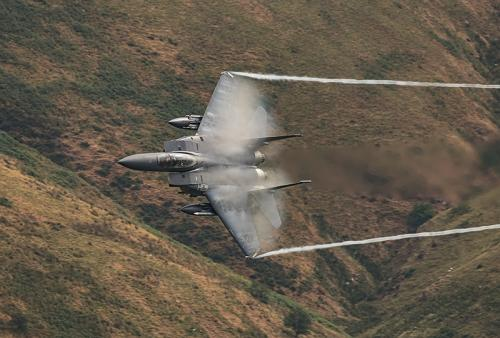 F15 Eagle With Vapour Cloud by John Bogle (10)