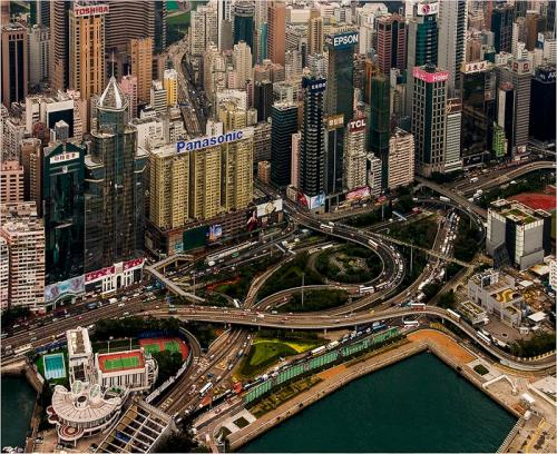 Hong Kong From The Air by Dave Young (10)